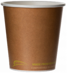 Bridge Gate® Renewable & Compostable Hot Cup, 10oz