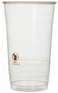 Bridge Gate® Renewable & Compostable Cold Cup - 24oz