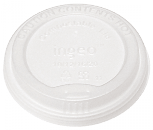 Renewable & Compostable Hot Cup Lids, Fits 10-20oz Hot Cups