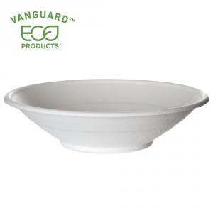 Vanguard™ Renewable & Compostable Sugarcane Bowls - 24oz