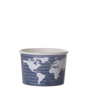 World Art Renewable & Compostable Paper Food Container