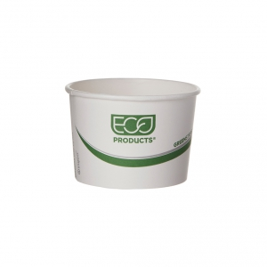 GreenStripe® Renewable & Compostable Food Container - 8oz.