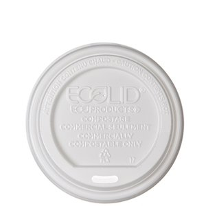 Small Renewable & Compostable EcoLid®