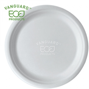 Vanguard™ Renewable & Compostable Sugarcane Plate - 10in