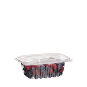 12 oz PLA Rectangular Deli Container