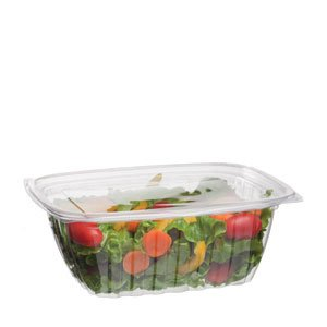 32 oz PLA Rectangular Deli Container