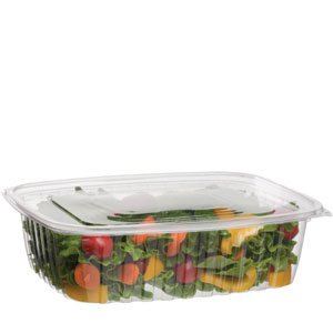 48 oz PLA Rectangular Deli Container