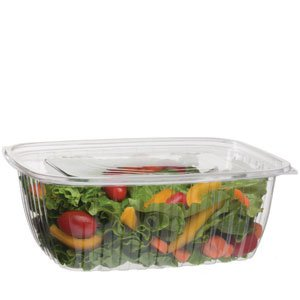 64 oz PLA Rectangular Deli Container