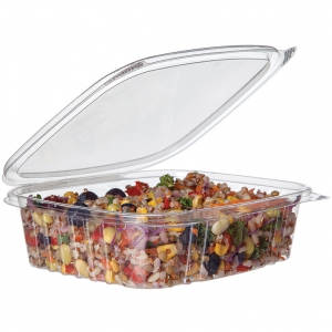 24 oz PLA Rectangular Deli Container