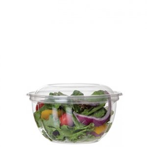 16 oz Clear PLA Salad Bowl