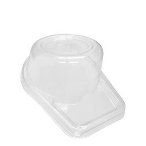 Tall Dome Lids, Fits Sugarcane Take-Out Cup - 100% Recycled Content