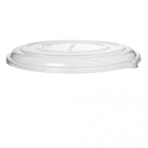14in Sugarcane Pizza Tray Lid - Clear