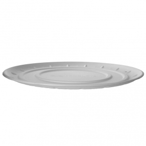 16in Sugarcane Pizza Tray, White