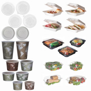 Clamshells, Soup Cups & Take-Out