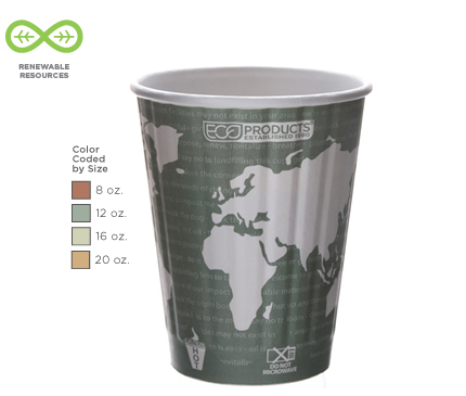 12 oz. World Art™ Insulated Hot Cup