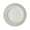 7.5in Sugarcane Plate, Green Print