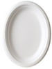 10 inch Oval Sugarcane Plate
