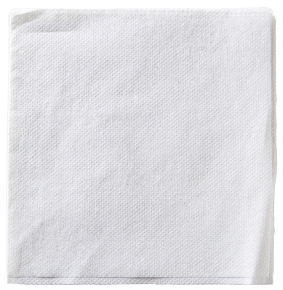 Cocktail Napkins 100 Recycled White