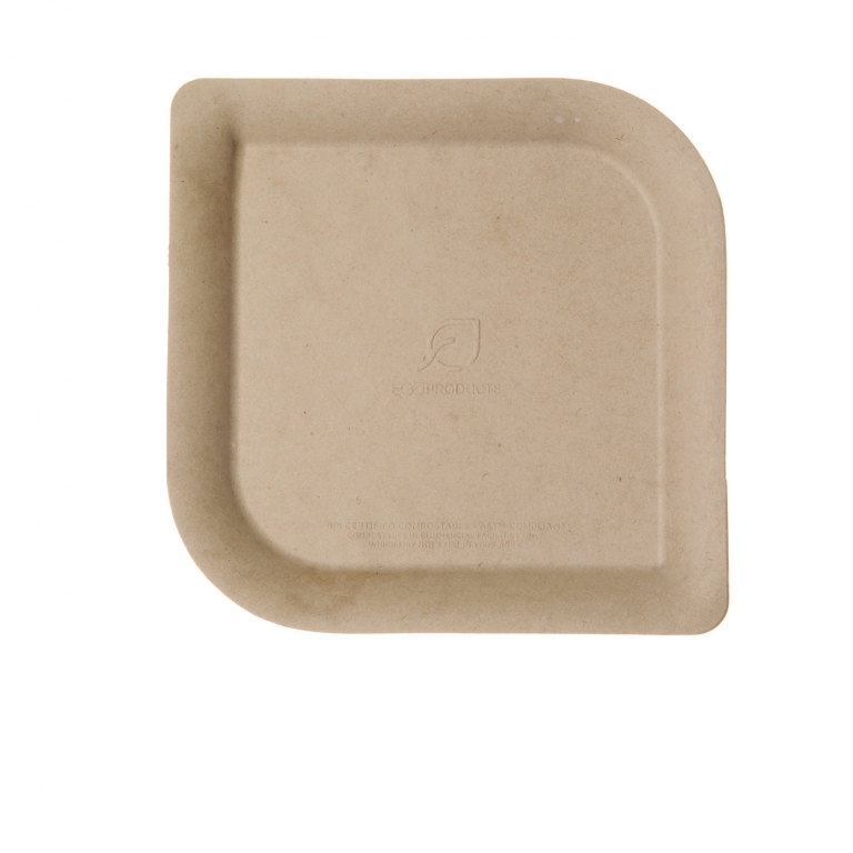 Click Here for Larger Image  sc 1 st  Eco Products & Dahlia™ Sugarcane \u0026 Bamboo Plates - 6in